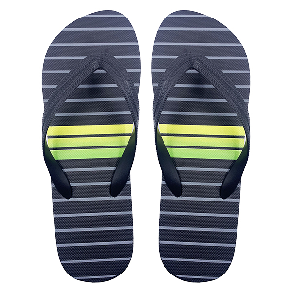 Stripe Printing Men Slipper