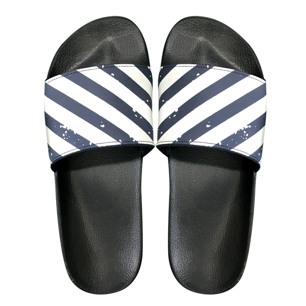 Unisex Stripe Push in Slipper