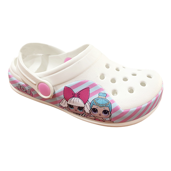 Hot sale Toddler Girl Cartoon Clogs